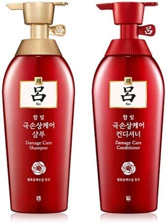 Ryoe-Anti-hierbas-coreano-Ryoe-pérdida-del-cabello-dañado-cabello-Champú-acondicionador
