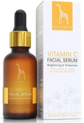 serum vitamina c mother nature cosmetics