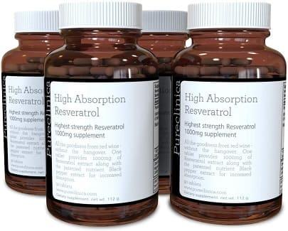 Resveratrol tabletas